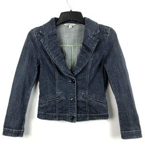 CAb Lucy Denim Fitted Jean Jacket Lucy #860 Small